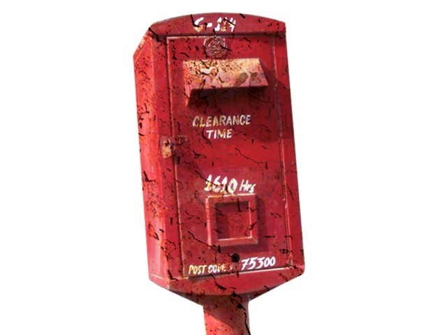 Nearly half of the 500 mailboxes in Karachi are either broken or in serious need of repair.