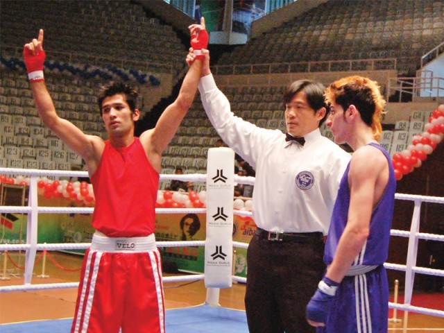 Waseem bagged gold in the Shaheed Benazir Bhutto event but failed to emulate his feat in Kazakhstan. PHOTO: FILE EXPRESS