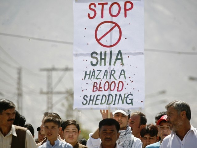Hazara Democratic Party to hold protests outside several embassies against targeted killings. PHOTO: REUTERS/ FILE