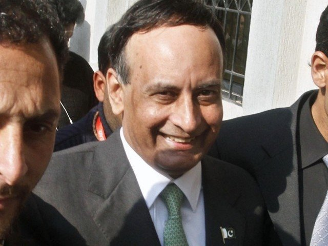 Haqqani's lawyer says letter written to RIM in accordance with judicial commission's orders. PHOTO: EXPRESS/ FILE