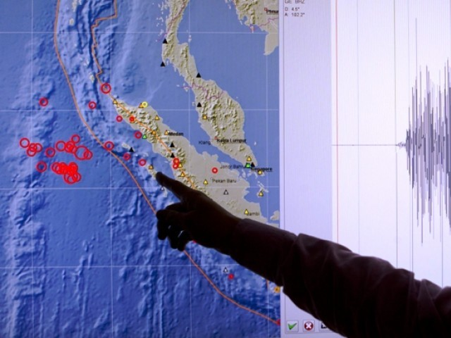 Fears of a tsunami in Indian Ocean quelled by Met office. PHOTO: REUTERS