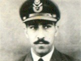 Then Flight Lieutenant Cecil Chaudhry. PHOTO: PAF ARCHIVES