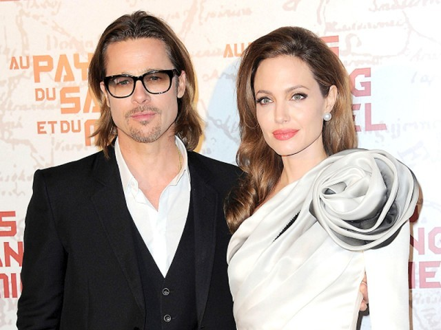 Brad Pitt's publicist has confirmed that the couple is engaged but the date and place of the wedding is not known. PHOTO: FILE
