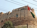 The Pakka Qila is a big tourist spot. PHOTO: EXPRESS