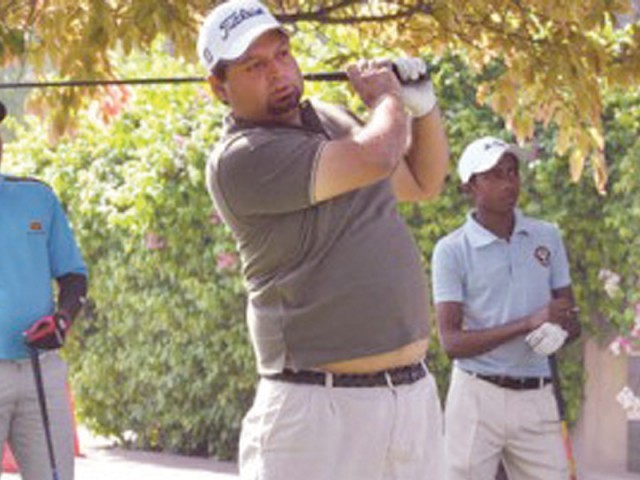 Ali Hai, who led on the opening day, finished the event at fifth place. PHOTO: FILE EXPRESS