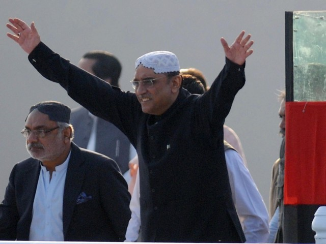 President Zardari requests trader community to pour in capital needed for the establishment of the bank. PHOTO: AFP/FILE