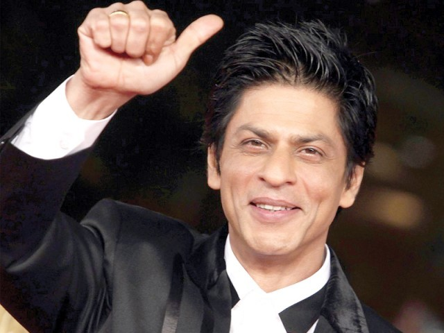 Bollywood star Shahrukh Khan says he wants to make a difference in the world with his acting. PHOTO: FILE
