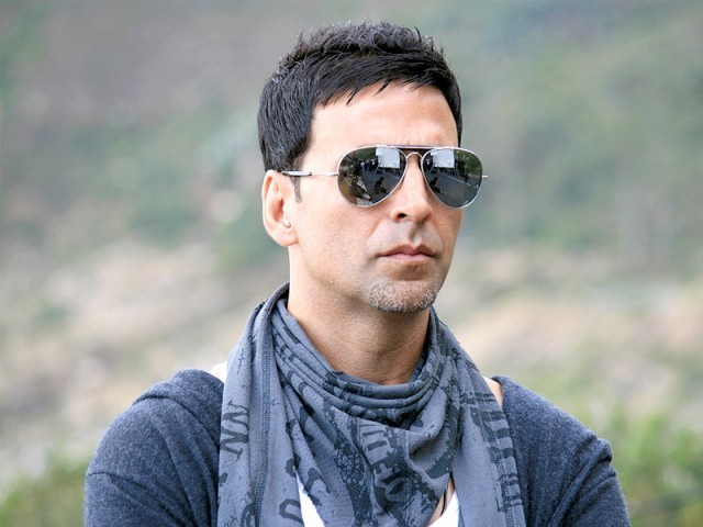 Kumar, who rose to fame with action movies like Khiladi and Mohra, now returns to the genre after seven years with Rowdy Rathore. PHOTO: FILE