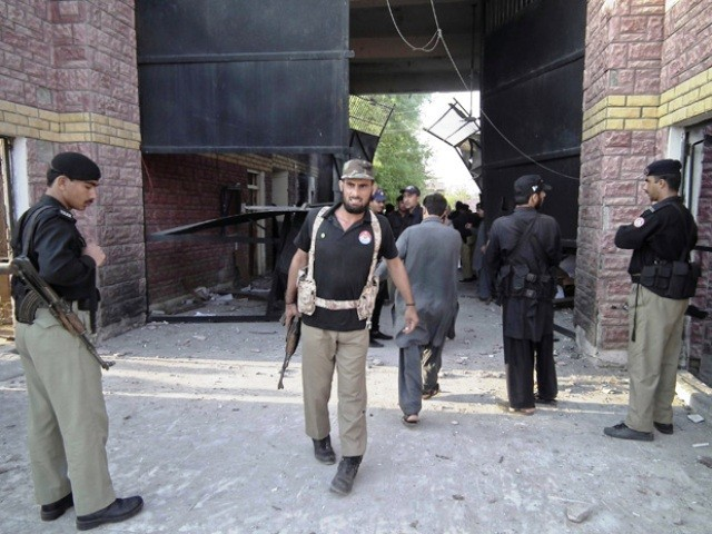 On Sunday nearly 400 prisoners, including militants, escaped from a jail outside the town of Bannu after an attack by insurgents armed with guns, grenades and rockets. PHOTO: REUTERS