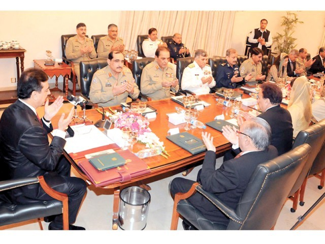 Fresh agreement to be signed with US; Defence Committee approves roadmap for US ties. PHOTO: PPI