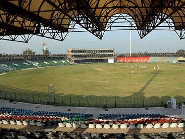 PCB) has started renovation work at the Gaddafi Stadium and is also working on the security arrangements for the two-match tour. PHOTO: AFP