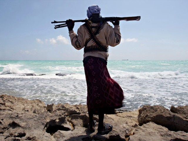 The pirates have demanded Rs320 million for the release of the crew and the vessel by April 20. PHOTO: AFP/FILE