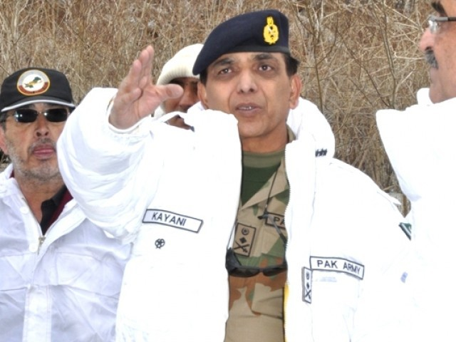 General Kayani's call for peace and a resolution of all issues is no small matter. PHOTO: ISPR