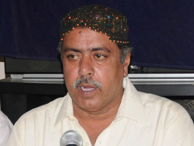 Sindh chief minister gave approval for testing of JSQM leader's viscera at British laboratory. PHOTO: EXPRESS/ FILE