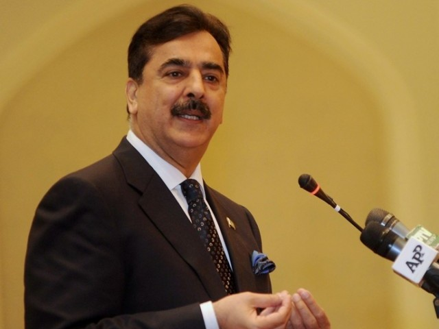 Prime minister says he will continue the mission of Bhuttos. PHOTO: AFP/FILE