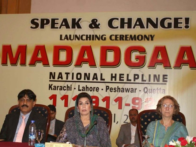 Mirza advised other civil society organisations to establish similar initiatives and open helplines for women and children in rural parts of the country. PHOTO: NNI