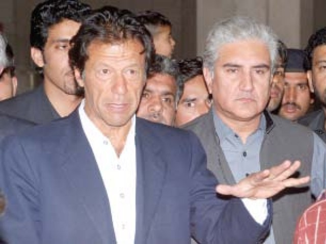 Imran says general can make PML-N or form political alliance, but he can't bring a tsunami.