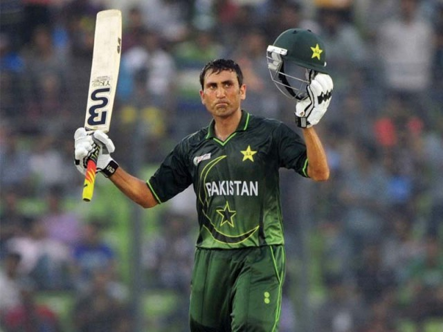 Younus Khan, who expressed his reservations over accepting captaincy, has said that he is ready to take on the role if an offer is made. PHOTO: AFP