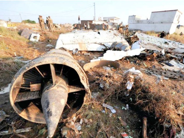 The Bhoja Air crash on April 20 claimed 127 lives. PHOTO: FILE