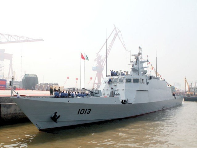 PNS Azmat is the first of Azmat class fast attack craft (missile). PHOTO: PR