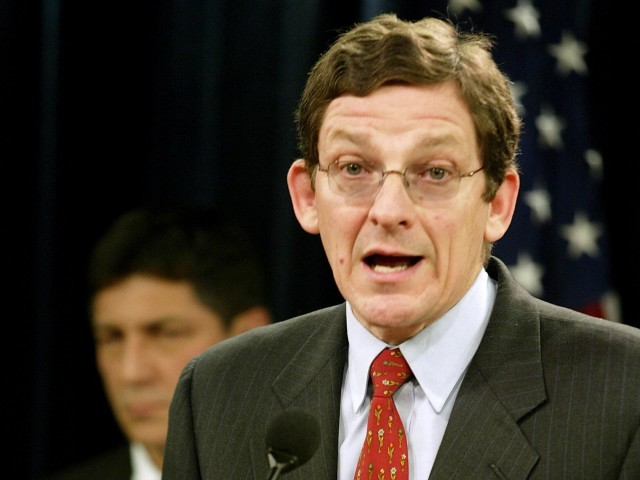 US special envoy Marc Grossman arrives in Islamabad in effort to reboot ties between two countries. PHOTO: AFP/FILE