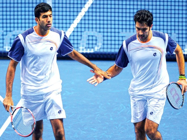 Aisam's ranking, and performance, has gone down since he parted ways with Rohan Bopanna. PHOTO: AFP
