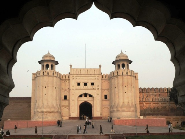 UNESCO to assess whether Lahore Fort can be removed from its list of endangered world heritage sites. PHOTO: AFP/FILE
