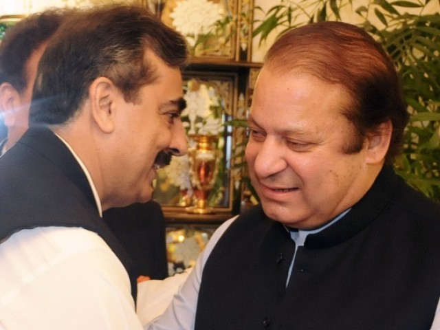 Nawaz Sharif demanded the resignation of Prime Minister Yousaf Raza Gilani after he was convicted of contempt of court. PHOTO: AFP/FILE