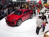A Lamborghini Urus concept SUV is displayed at the Auto China 2012 car show in Beijing on April 26, 2012. PHOTO: AFP