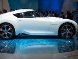 A Nissan 'zero emmissions' concept car is displayed at the Auto China 2012 car show in Beijing on April 26, 2012. PHOTO: AFP