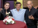 Mr and Mrs Jamshaid Zahidi with Shahbaz Qureshi