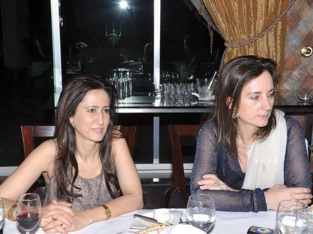 Naila Rizwan and Melanie Saigol.PHOTO COURTESY LATITUDE PR