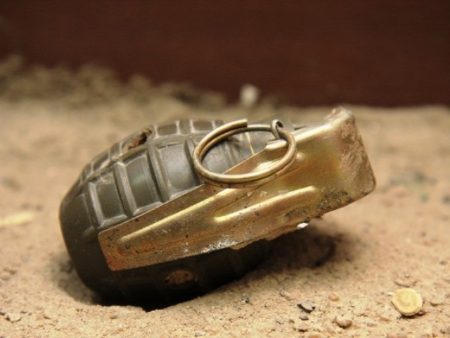 Unknown men threw a grenade in to the house of Faqir Mohammad during a marriage function. PHOTO: FILE
