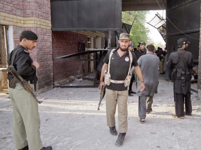 Traced phone conversation between two terrorists indicates that Adiala prison was next on the TTP's hit-list. PHOTO: FILE