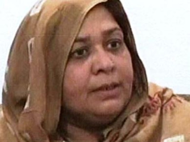 Nabeela was shot by her husband when she was inside the house. PHOTO: EXPRESS/FILE