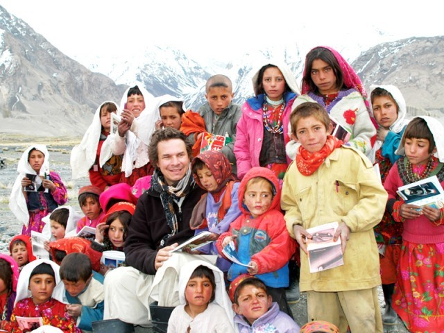 Three Cups of Tea chronicles Mortenson's unsuccessful attempt to climb the mountain K2 in Pakistan and his encounter with impoverished villagers. PHOTO: FILE