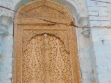 Carved window of a mosque, constructed over 150 years ago.