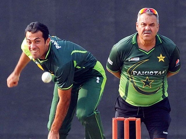 Whatmore, in his first assignment that was the Asia Cup, opted to take a back seat while assessing the players but is looking to assert his authority on future tours. PHOTO: FILE AFP