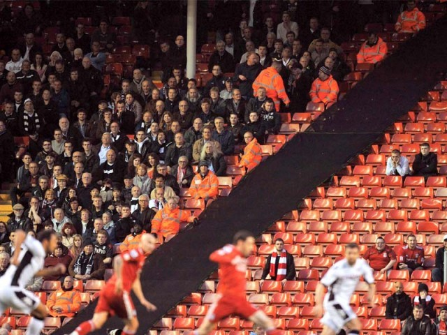 Liverpool's dismal show in the league has forced the fans to stay away. PHOTO: AFP
