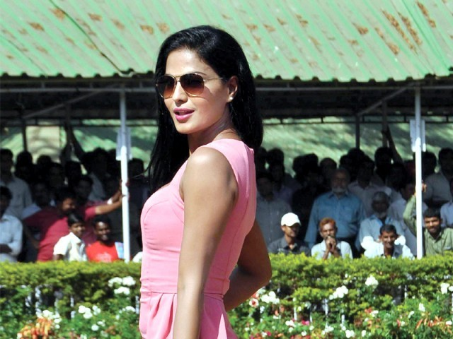 Pakistani actor Veena Malik has two big films in the pipeline. PHOTO: FILE