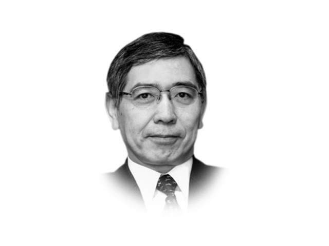 The writer Haruhiko Kuroda is president of the Asian Development Bank. The writer Luis Alberto Moreno is president of the Inter-American Development Bank