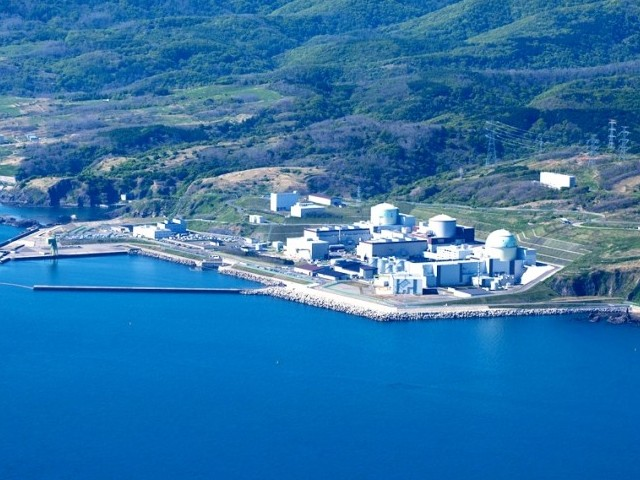 No. 3 unit at Tomari in Hokkaido will be completely shutdown by Monday. PHOTO: AFP