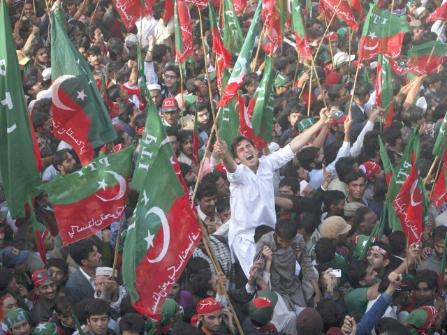 Party workers will march from China Chowk to parliament: PTI leaders. PHOTO: REUTERS/FILE