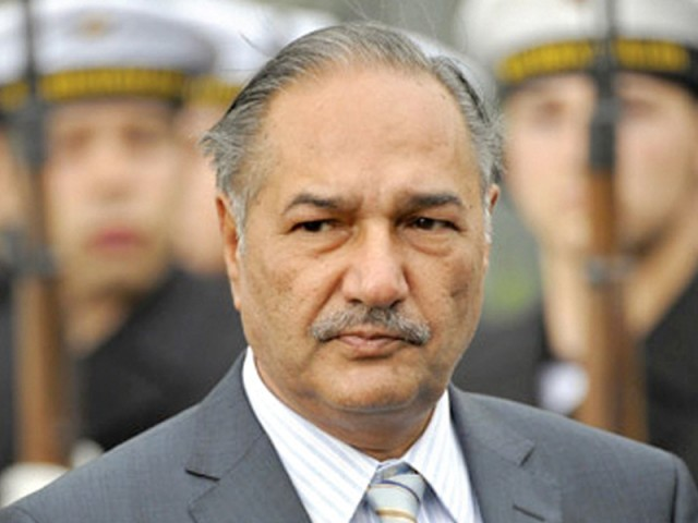 Mukhtar had said that there was pressure on Pakistan to reopen Nato supply route, or face sanctions. PHOTO: AGENCIES