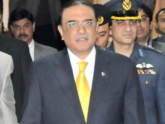 """ PLF members were pushed into the scuffle by lawyers raising slogans against President Zardari,"" PLF Multan chapter president Bushra Naqvi. PHOTO: PID/FILE"