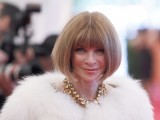 "Editor-in-chief of American Vogue Anna Wintour arrives at the Metropolitan Museum of Art Costume Institute Benefit celebrating the opening of ""Schiaparelli and Prada: Impossible Conversations"" exhibition in New York, May 7, 2012. PHOTO: REUTERS"