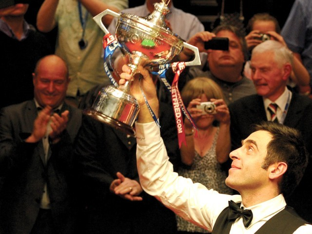 Ronnie has threatened to quit the sport several times in the past but is yet to act on his words. PHOTO: AFP