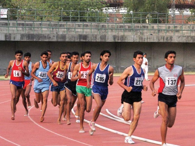 Local athletes lag behind international opposition when it comes to standards. PHOTO: FILE EXPRESS