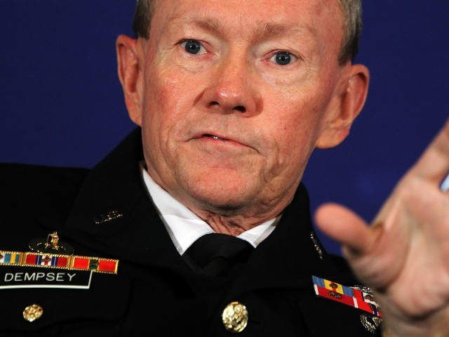 Pentagon confirms course material; Gen Dempsey calls for an enquiry, terms course as 'objectionable'. PHOTO: AFP/FILE