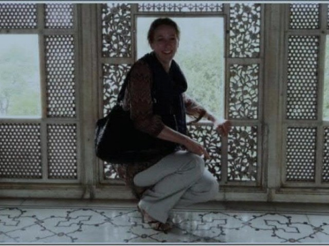 UNESCO MISSION: Princess Alexandra at the Lahore Fort. PHOTO: PR